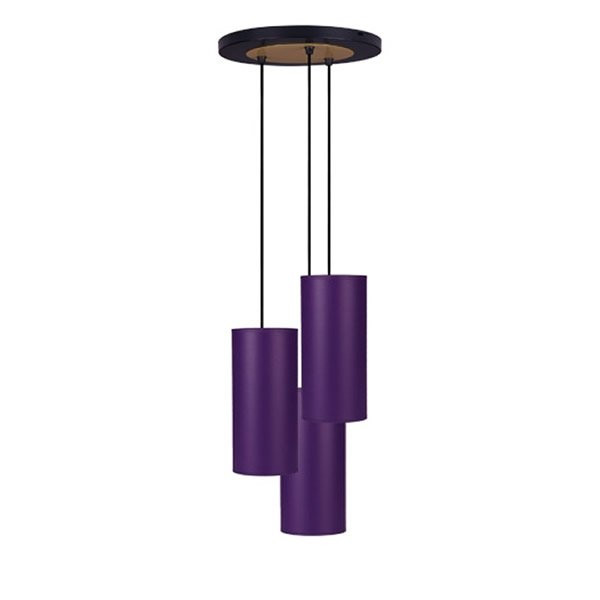 Luminaires entrée OLERON Violet, H26cm BROSSIER SADERNE