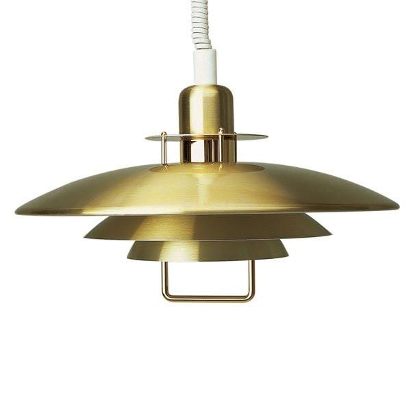Suspensions dorées PRIMUS, H20cm BELID