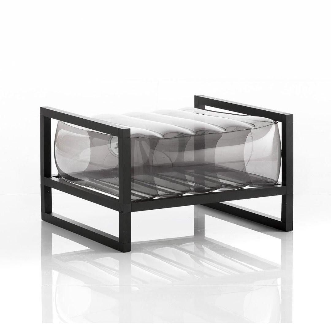Fauteuil design & Lumineux YOKO POUF, H42cm MOJOW