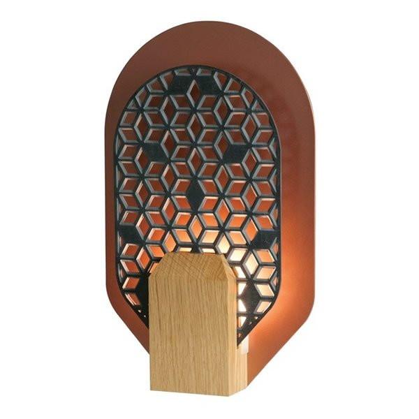 lampes à poser en bois RADIEUSE, H45.5cm BROSSIER SADERNE
