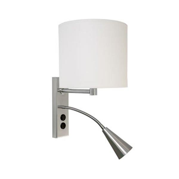 Luminaires chambre design SAHAR Blanc, H35cm BROSSIER SADERNE