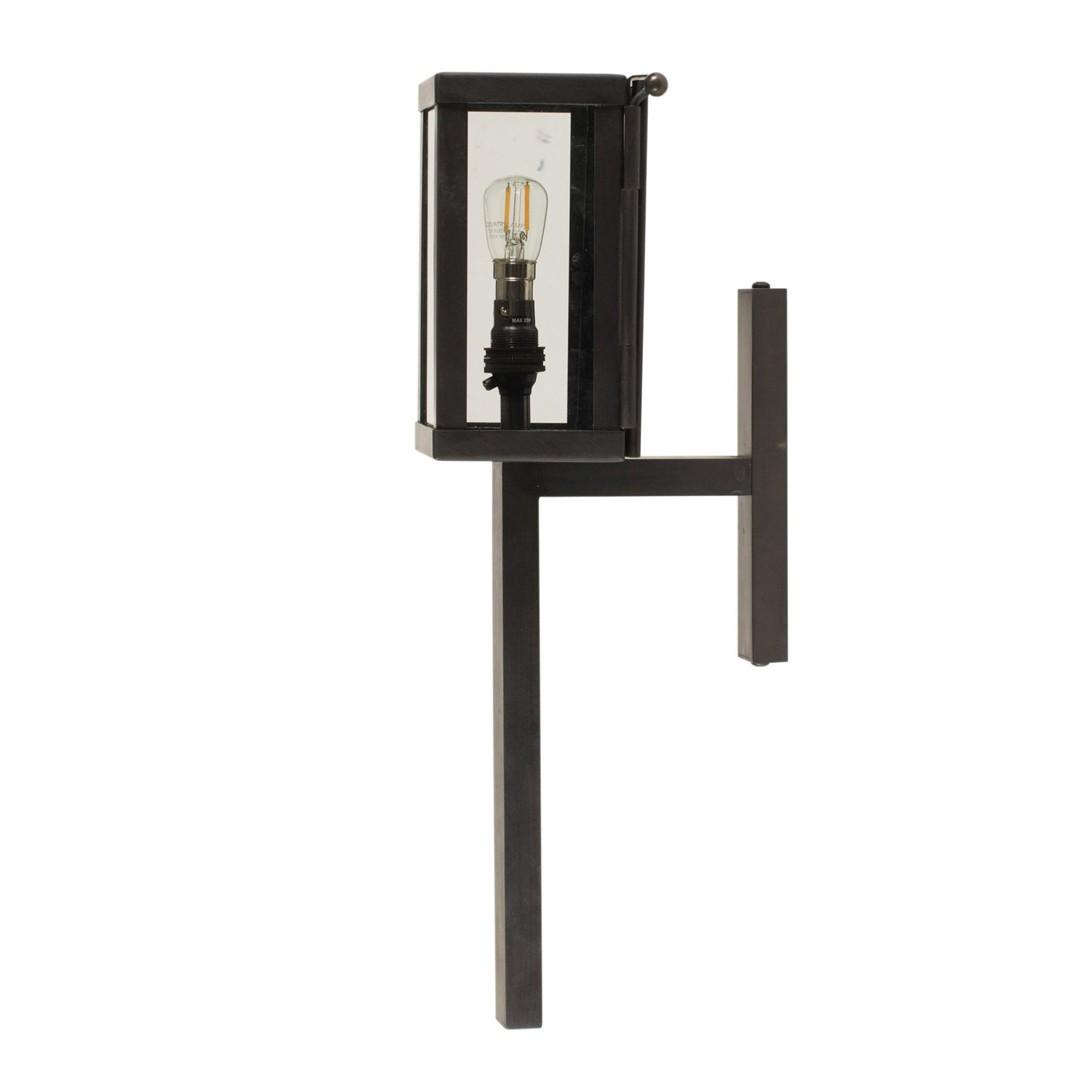 Luminaires de luxe extérieur VITRINE PETITE TORCH, H37.5cm AUTHENTAGE