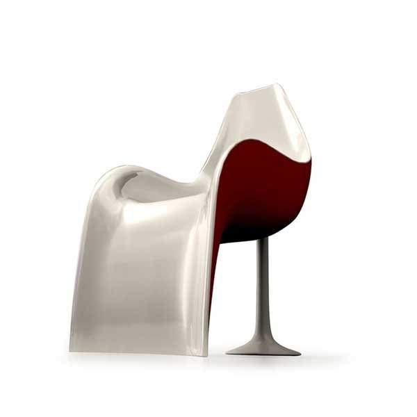 Fauteuil design & Lumineux HELLED ZAD
