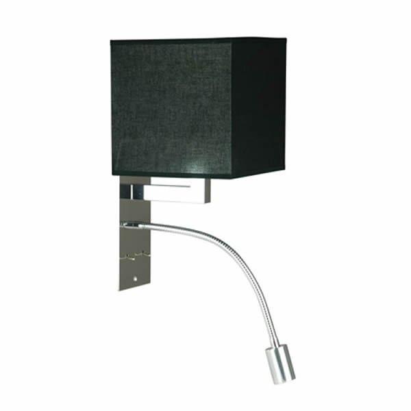 Luminaires chambre design SMILY Noir, H30cm BROSSIER SADERNE