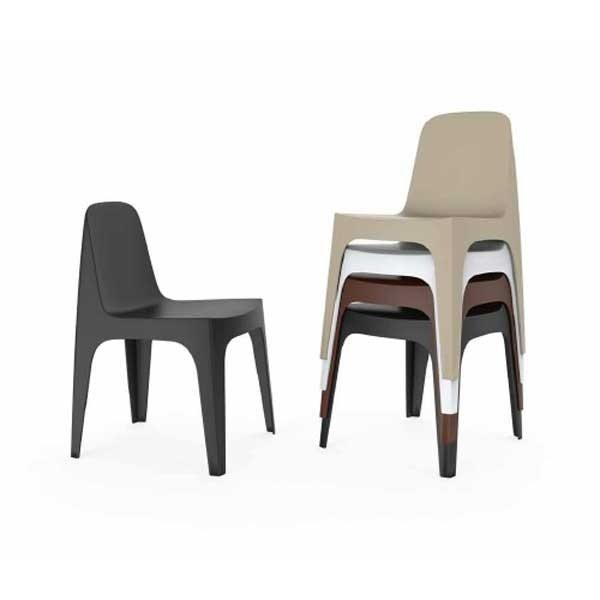 Chaise design & lumineuse SOLID, H80cm VONDOM