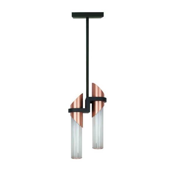 Luminaires entrée APORE Cuivré, H98cm BROSSIER SADERNE