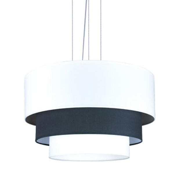 Luminaires entrée DRAY Blanc/Noir, H31cm BROSSIER SADERNE