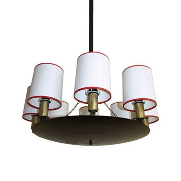 Luminaires salon design ROYAL Blanc, H85cm BROSSIER SADERNE