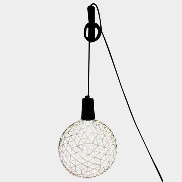 Luminaires chambre design BALL Bois naturel, H23cm STUDIO CHEHA
