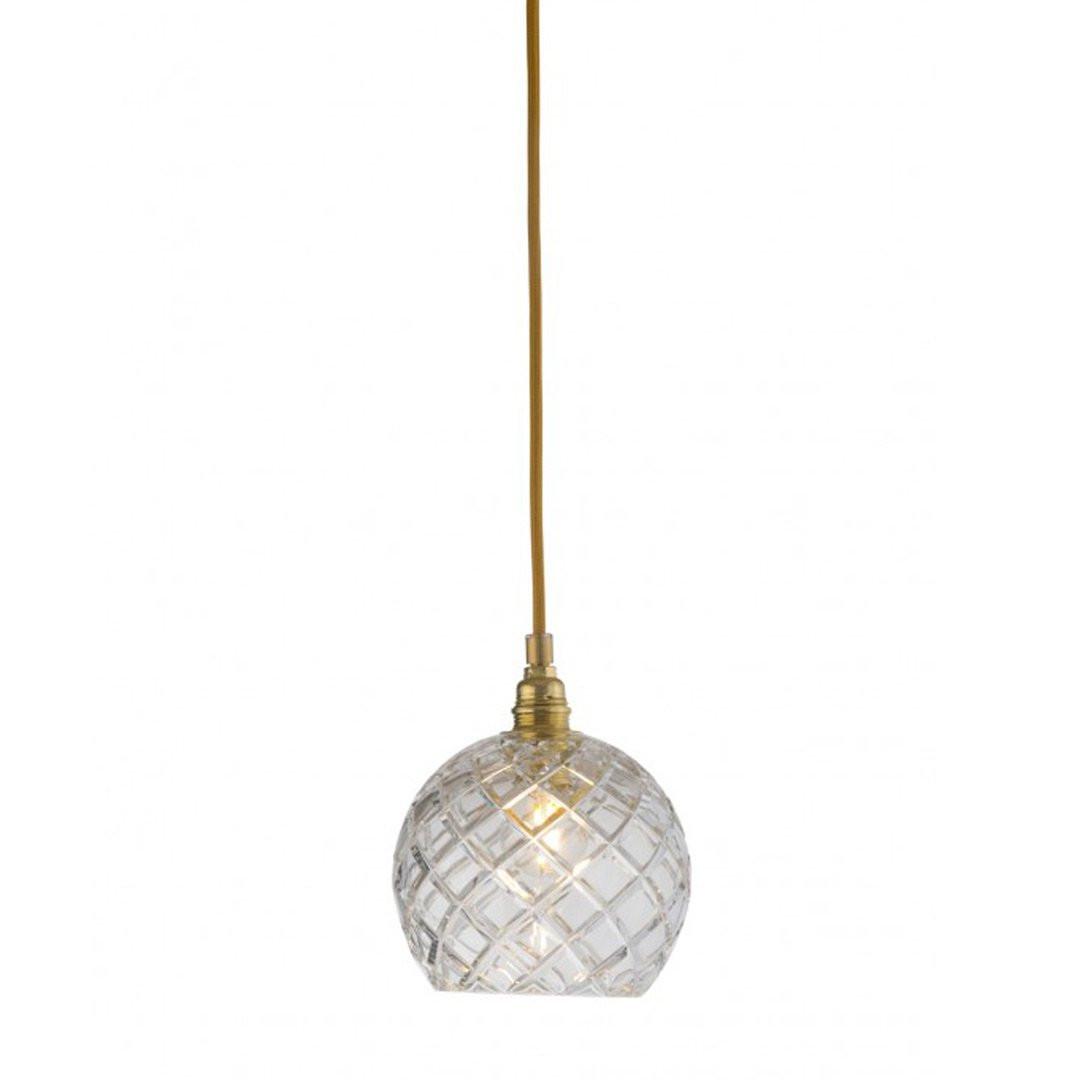 Luminaires salon design ROWAN CRYSTAL, Ø15cm EBB&FLOW