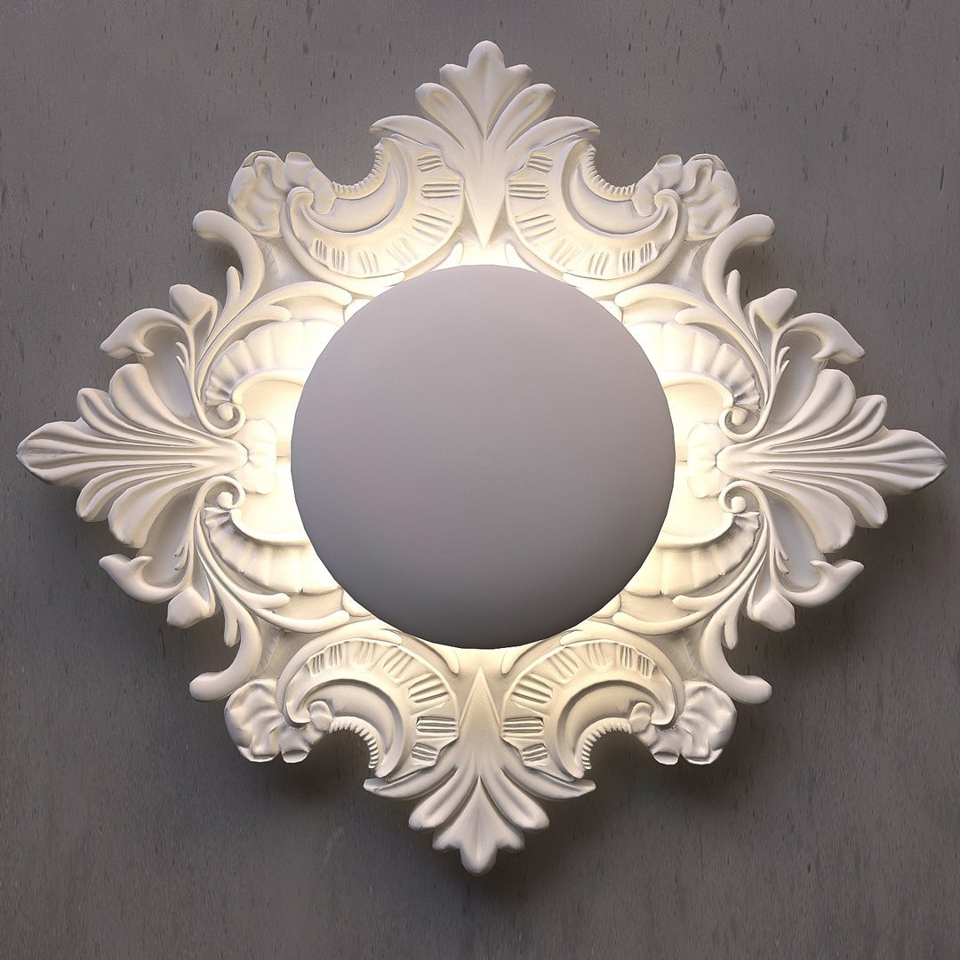 Luminaires chambre design TIEPOLO Blanc MASIERO