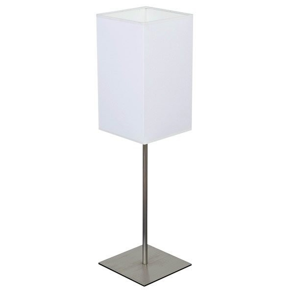 Luminaires chambre design TIN Blanc, H65cm BROSSIER SADERNE