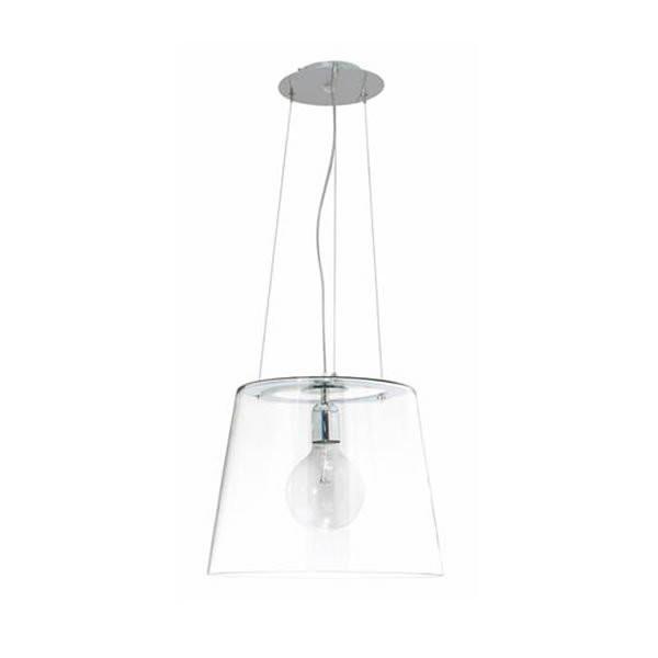 Luminaires salon design TRANSPA Transparent, H31cm BROSSIER SADERNE
