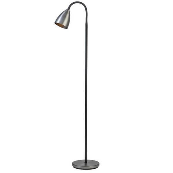 Lampadaires noirs TROTSIG, H117cm BELID