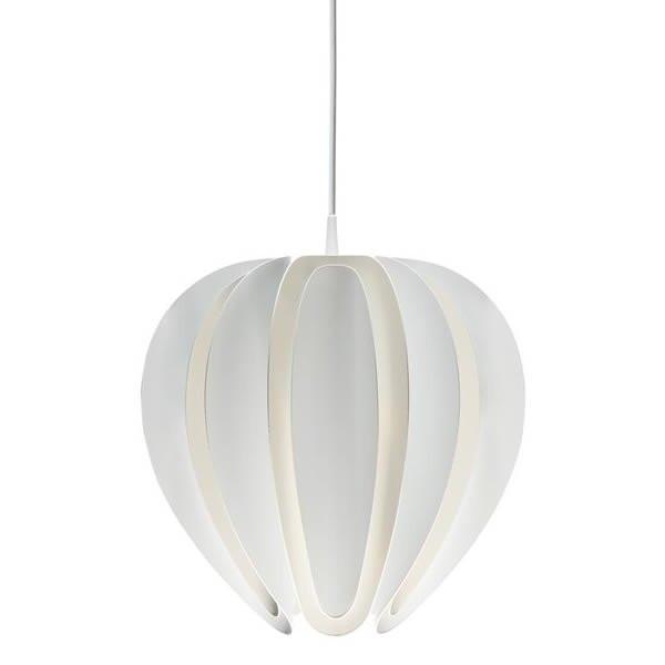 Luminaires entrée TULIP Blanc, H41.4cm BELID