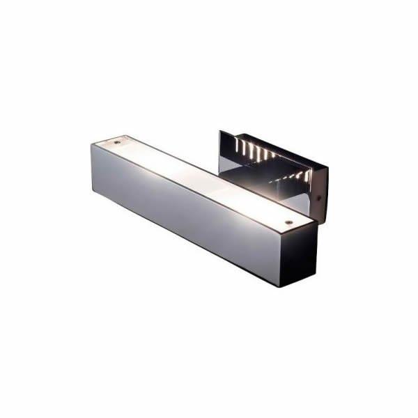 Luminaires chambre design TWALL Chrome, H6cm BOVER