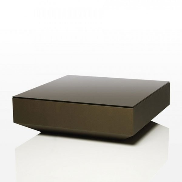 Table basse design & lumineuse VELA, H30cm VONDOM