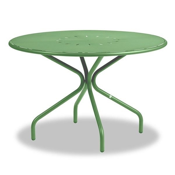 Table design & lumineuse - Table haute GENF Vert, H75cm VERMOBIL