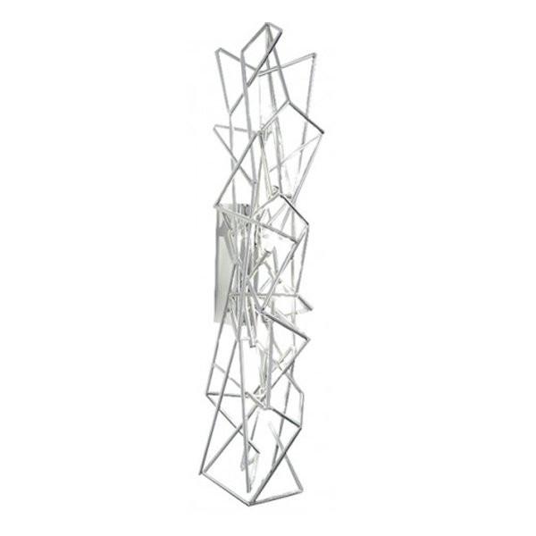 Luminaires entrée ETOILE Nickel, H63cm TERZANI