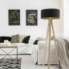 Lampadaires pour chambre GLORIA Noir, H145cm BPS KONCEPT
