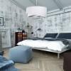 Suspensions chambre à coucher ASYMETRIA Blanc, Ø50cm BPS KONCEPT