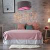 Suspensions chambre à coucher ASYMETRIA Gris, Ø50cm BPS KONCEPT