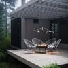Luminaires chambre design NIGHT BIRDS, L73cm BROKIS
