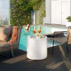 Mobilier Lumineux HOME CYLINDRIQUE, H55cm LYXO DESIGN