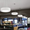 Luminaires salon design URBAN 37, H16.5cm BOVER