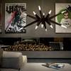Luminaires salon design FLASHWOOD MASIERO