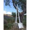 Luminaires de luxe extérieur TOBIA Blanc, H165cm KARMAN