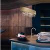 Luminaires chambre design OLA OVALE, L50cm MASIERO