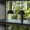 lampes à poser en bois FUJI Noir, H39cm FARO
