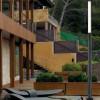 Eclairage exterieur piscine BERET Anthracite, H180cm FARO