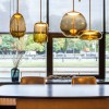 Luminaires chambre design KNOT UOVO, H48cm BROKIS