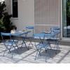 Table design & lumineuse - Table haute STEP, H75cm VERMOBIL