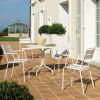 Table design & lumineuse - Table haute TWIST, H75cm VERMOBIL