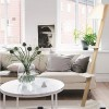 Lampadaires pour chambre ZECK Blanc, H168cm LUZ EVA