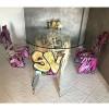 Chaise design & lumineuse STREETART, H92cm ACRILA