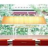 Luminaires salon design MEI 180, H30cm BOVER