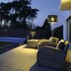 Eclairage exterieur piscine ADEGAN MANILA, H175.5cm SLV