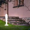 Luminaires de jardin design BAT Blanc, H75cm MILAN ILUMINACION