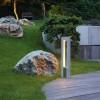 Bornes jardin extérieures ARROCK ARC Gris, H70.5cm SLV