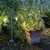 Bornes jardin extérieures SITRA LED SLV