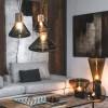 Luminaires chambre design MUFFINS MOYEN, H40cm BROKIS