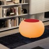 Table basse design & lumineuse BUBBLE INT Translucide, H41cm MOREE