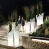 Pots lumineux & Pots design ASSIA, H140cm LYXO DESIGN