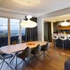 Luminaires salon design E.T.A SAT, H54cm KUNDALINI