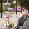Luminaires de luxe extérieur DRYLIGHT, H120cm MASIERO
