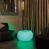Table basse design & lumineuse BUBBLE EXT Granite, H41cm MOREE